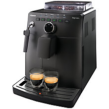 Buy Saeco HD8750/18 Intuita Bean-to-Cup Coffee Machine, Black Online at johnlewis.com