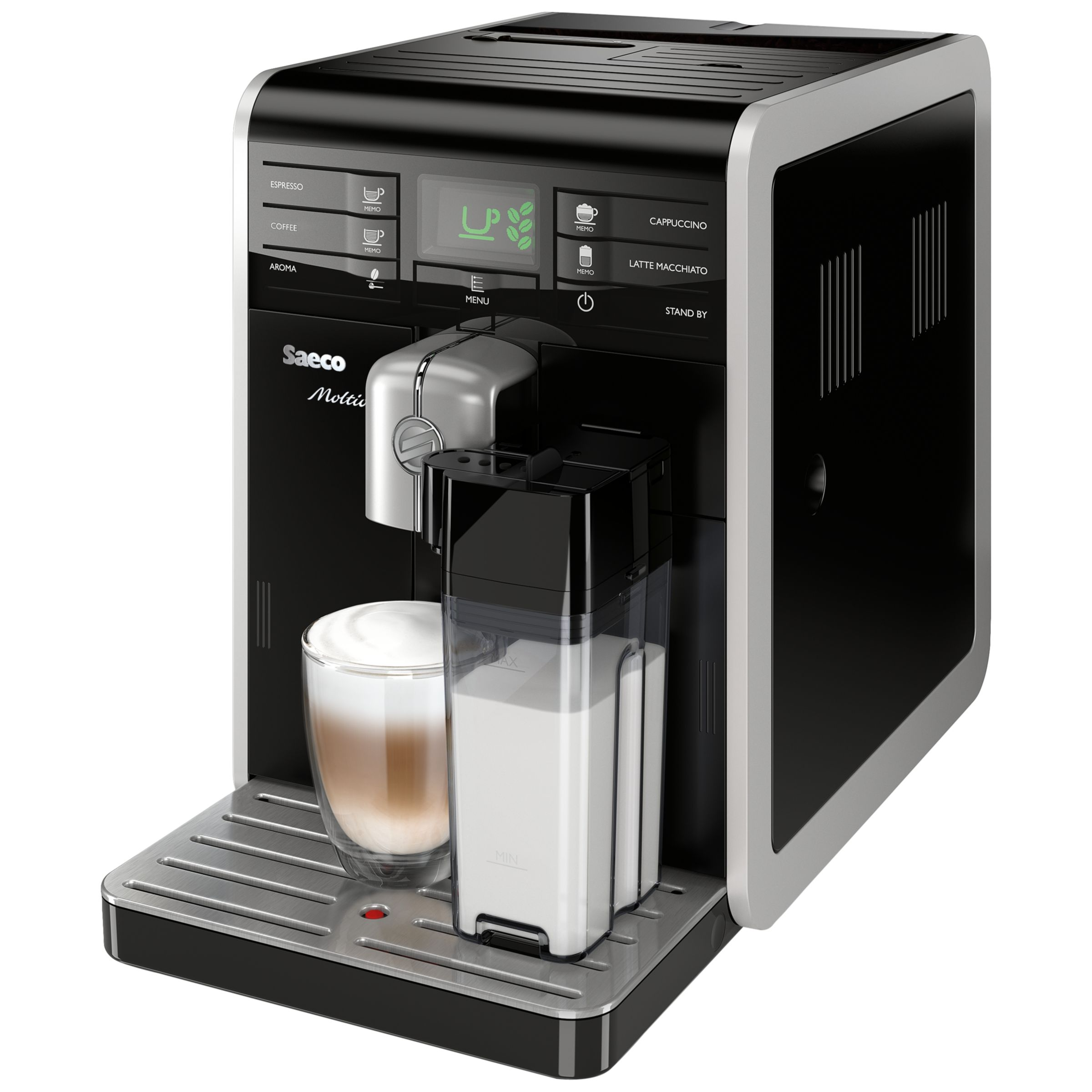 Buy Philips Saeco HD8769/08 Moltio Bean-to-Cup Coffee Machine John Lewis