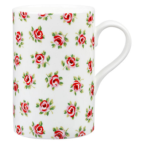 Buy Cath Kidston Cotton Rose Cedar Mug Online at johnlewis.com