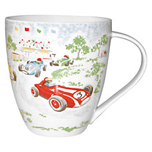 Buy Cath Kidston Racing Cars Crush Mug Online at johnlewis.com