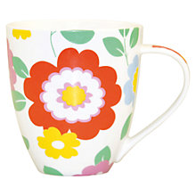 Buy Cath Kidston Circus Flowers Crush Mug Online at johnlewis.com