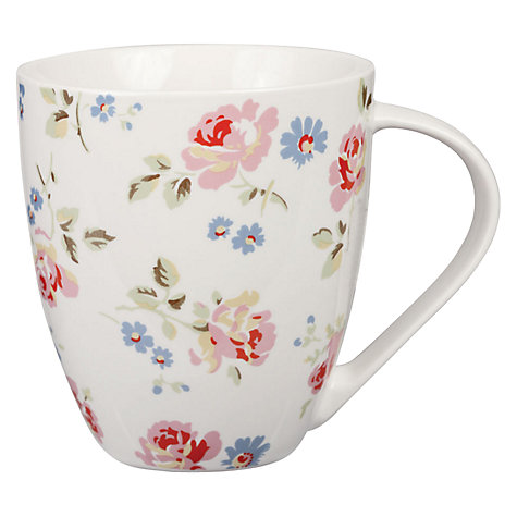 Buy Cath Kidston Cut Roses Crush Mug Online at johnlewis.com