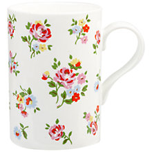 Buy Cath Kidston Kew Sprig Mug Online at johnlewis.com