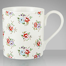Buy Cath Kidston Tea Rose Larch Mug Online at johnlewis.com