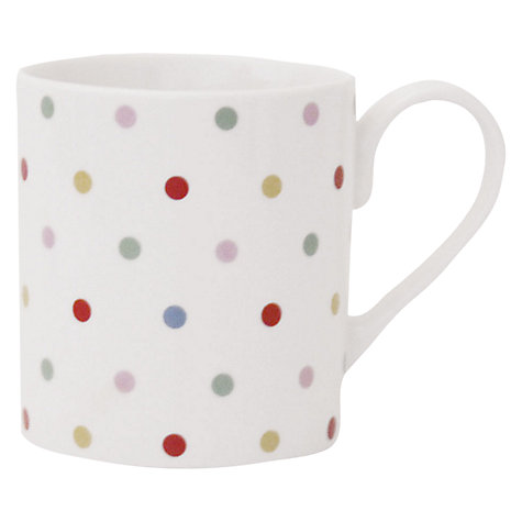 Buy Cath Kidston Dotty Larch Mug Online at johnlewis.com