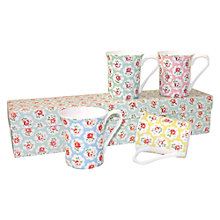 Buy Cath Kidston Ditsy Royale Mugs, Set of 4 Online at johnlewis.com