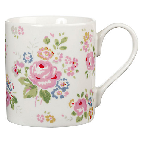 Buy Cath Kidston Briar Rose Larch Mug Online at johnlewis.com
