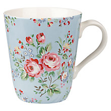 Buy Cath Kidston Chelsea Rose Stanley Mug Online at johnlewis.com