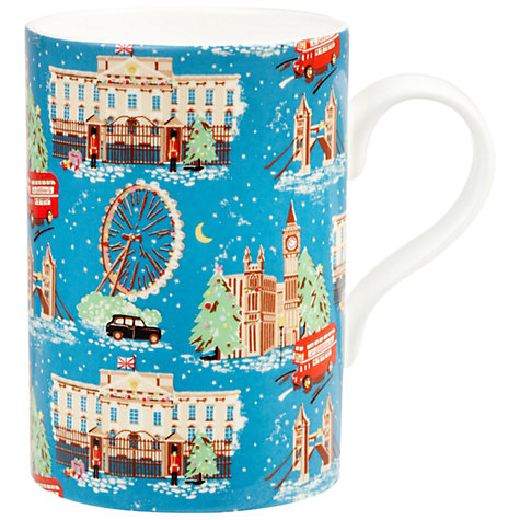 Buy Cath Kidston London Snow Mug Online at johnlewis.com