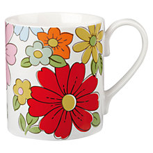 Buy Cath Kidston Petal Print Larch Mug Online at johnlewis.com