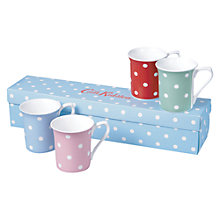 Buy Cath Kidston Dotty Royale Mugs, Set of 4 Online at johnlewis.com
