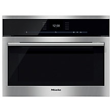 Buy Miele DGC6500 ContourLine Combination Steam Oven, Clean Steel Online at johnlewis.com