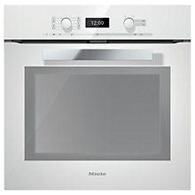 Buy Miele H6460BP PureLine Single Electric Oven Online at johnlewis.com