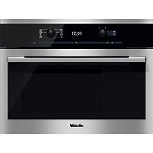 Buy Miele DGC6300 ContourLine Combination Steam Oven, Clean Steel Online at johnlewis.com