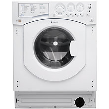 Buy Hotpoint BHWM149/2 Integrated Washing Machine, 7kg Load, A++ Energy Rating, 1400rpm Spin Online at johnlewis.com