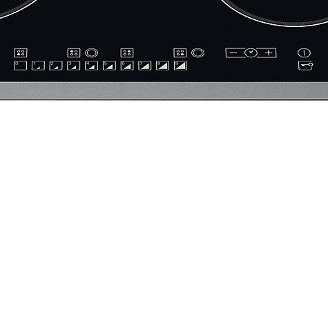 Buy Hotpoint CRO642DB Ceramic Hob, Black Online at johnlewis.com