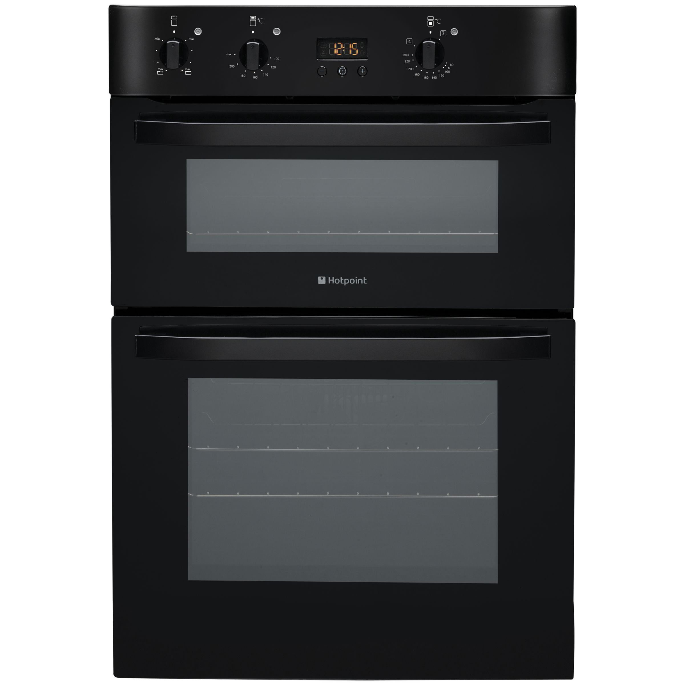 Hotpoint DH53CKS Double Electric Oven Black