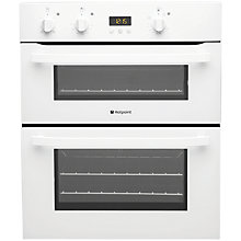 Buy Hotpoint UH53WS Double Electric Oven, White Online at johnlewis.com