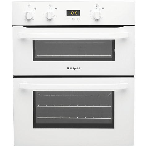 Buy Hotpoint UH53WS Double Built-Under Electric Oven, White Online at johnlewis.com