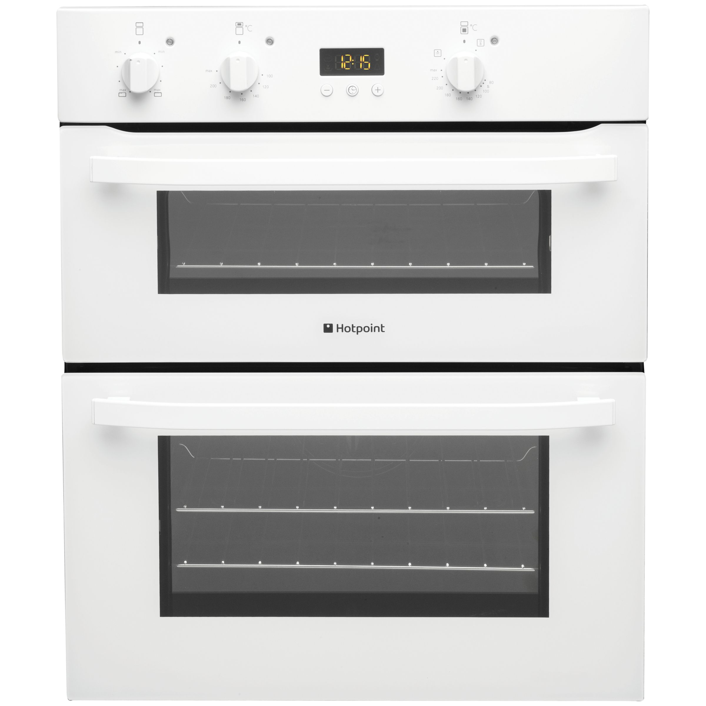 Hotpoint UH53WS Double Electric Oven White