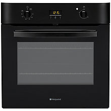 Buy Hotpoint SH33KS Single Electric Oven, Black Online at johnlewis.com