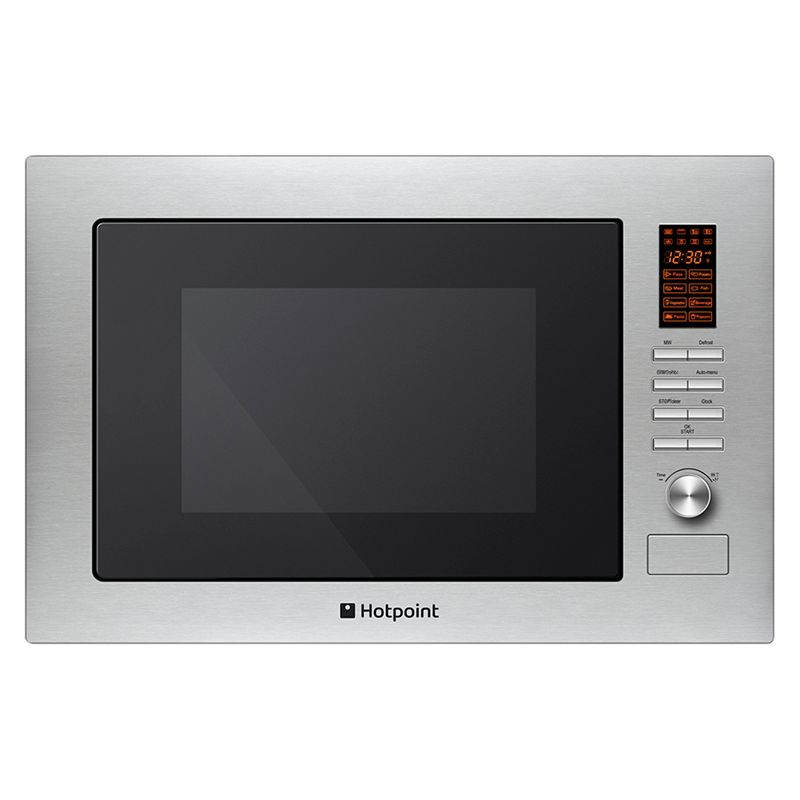 Hotpoint MWH222.1X Builtin Microwave and Grill Stainless Steel