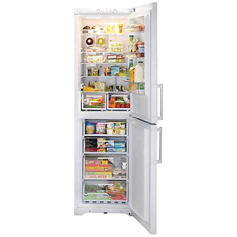 Buy Hotpoint EXFL2010P Fridge Freezer, A+ Energy Rating, 60cm Wide, White Online at johnlewis.com