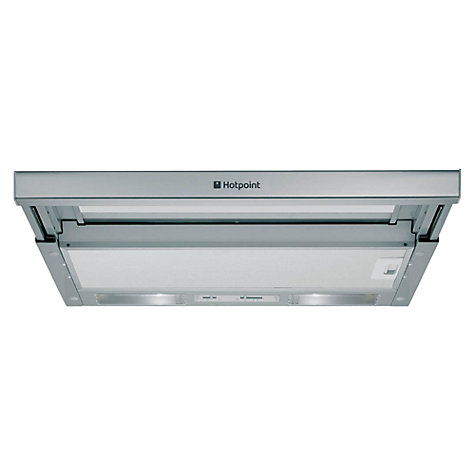 Buy Hotpoint HSFX Telescopic Cooker Hood, Stainless Steel Online at johnlewis.com