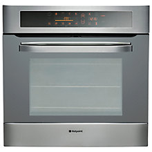 Buy Hotpoint SH103PXS Single Electric Oven, Stainless Steel Online at johnlewis.com