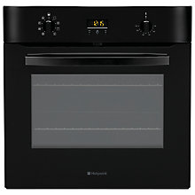 Buy Hotpoint SH83KS Single Electric Oven, Black Online at johnlewis.com