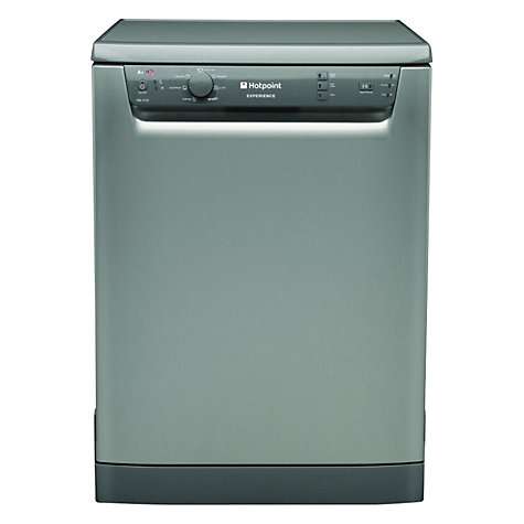 Buy Hotpoint Experience FDEL31010G Dishwasher, Graphite Online at johnlewis.com