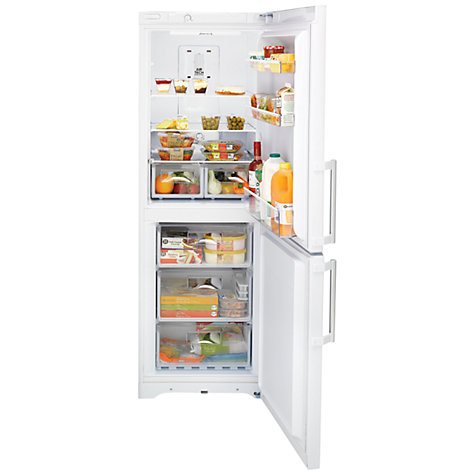 Buy Hotpoint EXFM171P Fridge Freezer, A+ Energy Rating, 60cm Wide, White Online at johnlewis.com