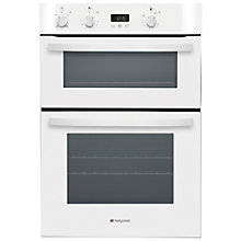 Buy Hotpoint DH53WS Double Electric Oven, White Online at johnlewis.com