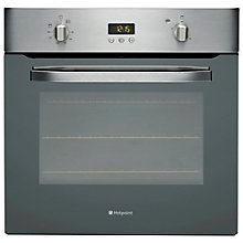 Buy Hotpoint SHS33XS Single Electric Oven, Stainless Steel Online at johnlewis.com