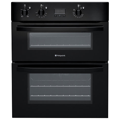Buy Hotpoint UH53KS Double Electric Oven, Black Online at johnlewis.com