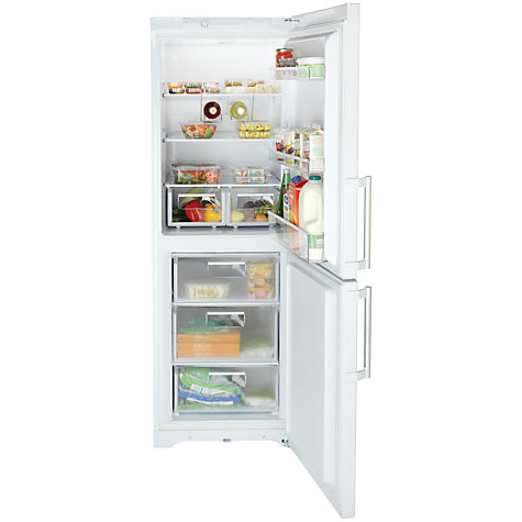 Buy Hotpoint EXRM171P Fridge Freezer, A+ Energy Rating, 60cm Wide, White Online at johnlewis.com