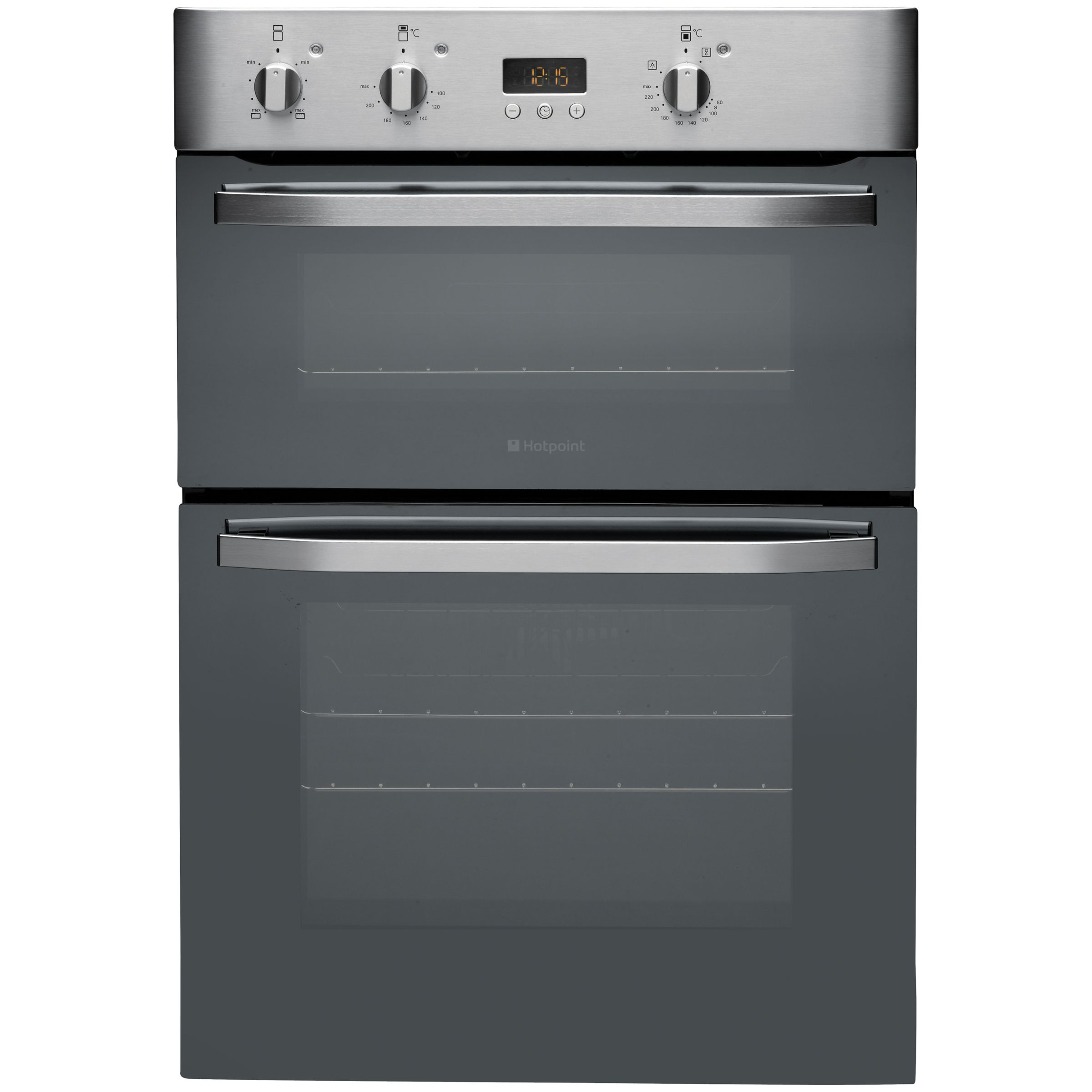 Hotpoint DHS53CXS Double Electric Oven Stainless Steel