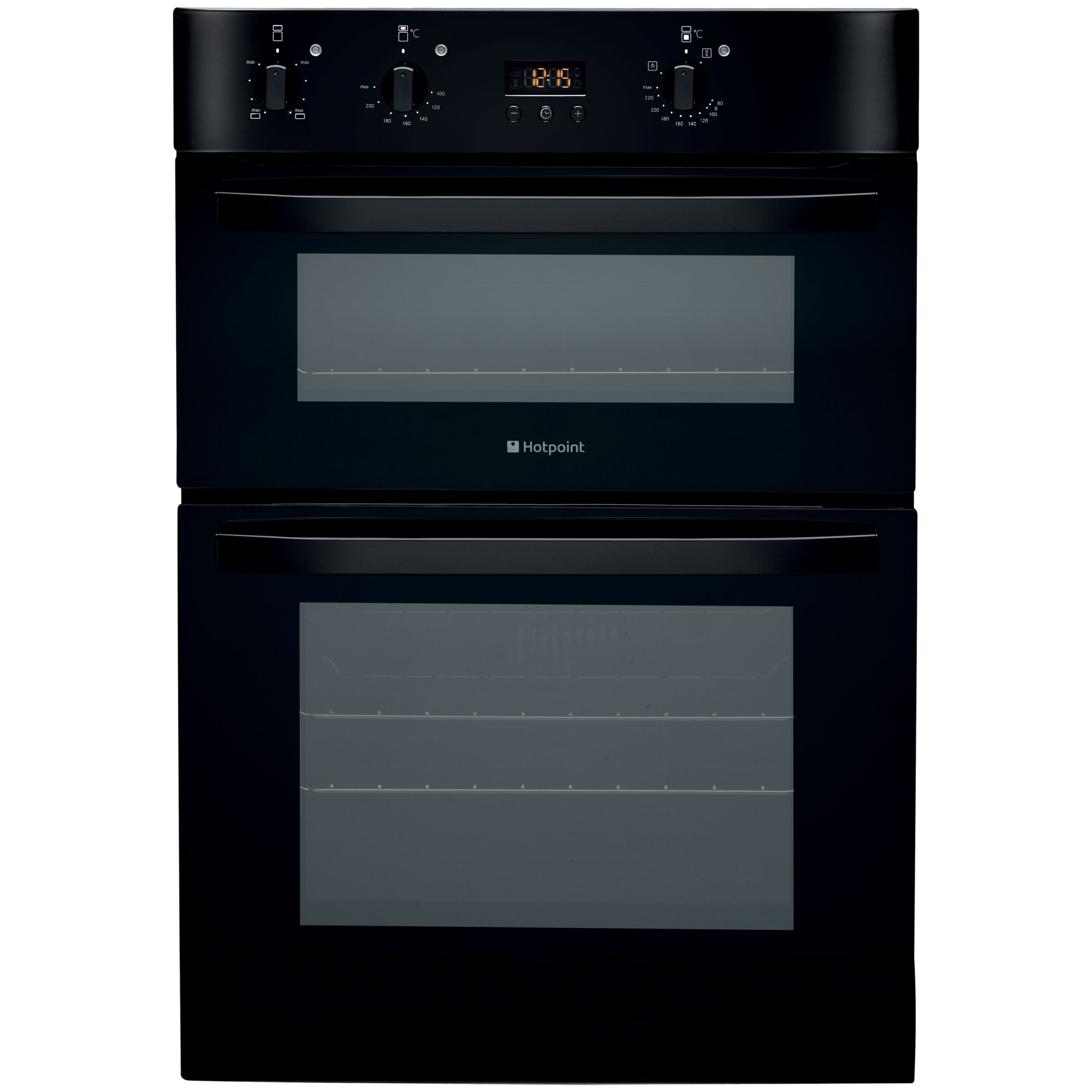 Hotpoint DH53KS Double Electric Oven Black