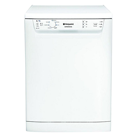 Buy Hotpoint Experience FDEL31010P Dishwasher, White Online at johnlewis.com
