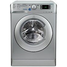 Buy Indesit XWE91483XS Washing Machine, 9kg Load, A+++ Energy Rating, 1400rpm Spin, Silver Online at johnlewis.com