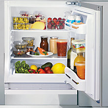 Buy Indesit INTS1612UK Integrated Undercounter Larder Fridge, A+ Energy Rating, 58cm Wide Online at johnlewis.com