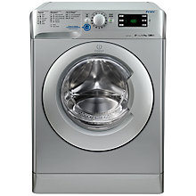 Buy Indesit XWE91282XS Washing Machine, 9kg Load, A++ Energy Rating, 1200rpm Spin, Silver Online at johnlewis.com