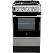 Buy Indesit IS50D1XXS Dual Fuel Cooker, Stainless Steel Online at johnlewis.com