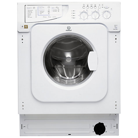 Buy Indesit IWME147(UK) Integrated Washing Machine, 7kg Load, A+ Energy Rating, 1400rpm Spin Online at johnlewis.com
