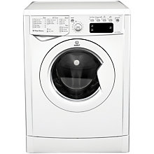 Buy Indesit IWE81281 ECO Washing Machine, 8kg Load, A+ Energy Rating, 1200rpm Spin, White Online at johnlewis.com