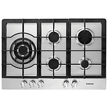 Buy Samsung GN7A2IFXD/XEU Gas Hob, Stainless Steel Online at johnlewis.com