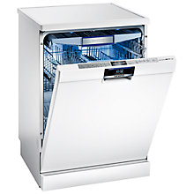 Buy Siemens SN26T297GB Freestanding Dishwasher, White Online at johnlewis.com