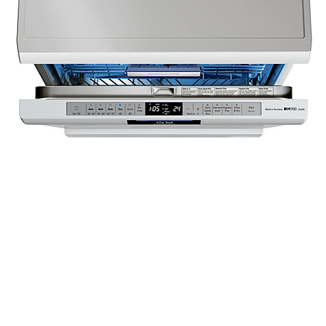 Buy Siemens SN26T297GB Dishwasher, White Online at johnlewis.com
