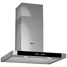 Buy Neff D76M55N0GB Chimney Cooker Hood, Stainless Steel Online at johnlewis.com