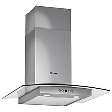 Buy Neff D86G45N0GB Chimney Cooker Hood, Stainless Steel Online at johnlewis.com
